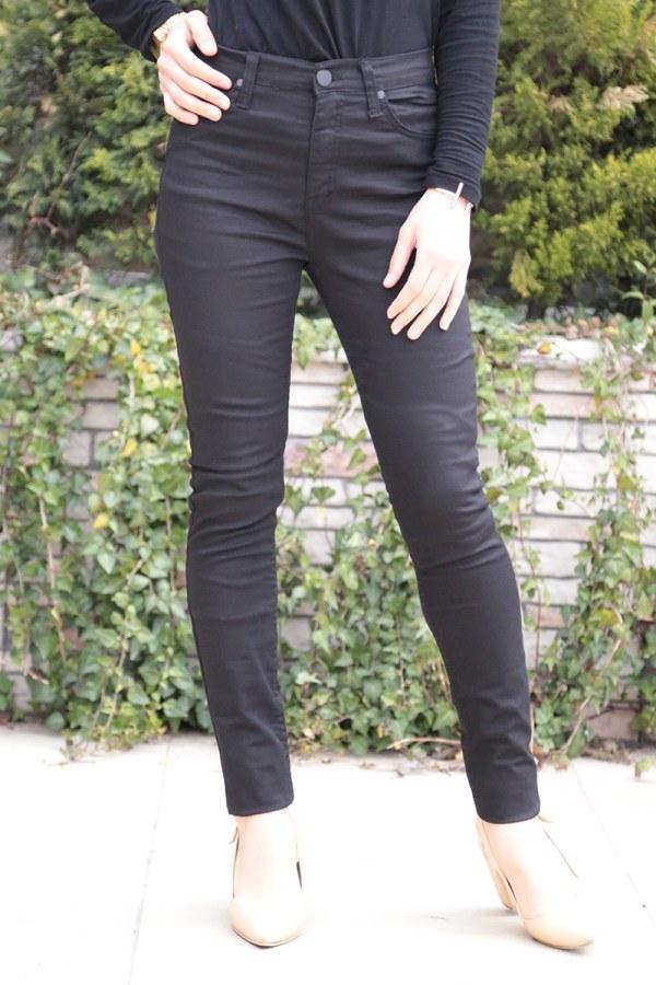 Dar Paça Pantalon 8503-3 Siyah