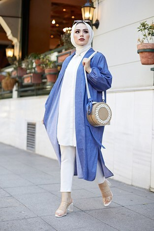 - Denim Kimono 9943-1