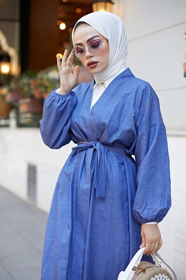 Denim Kimono 9943-1