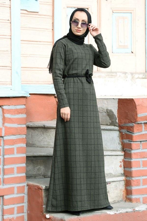 Kuşaklı Spor Elbise 3769-20