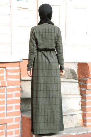 Kuşaklı Spor Elbise 3769-20 - Thumbnail