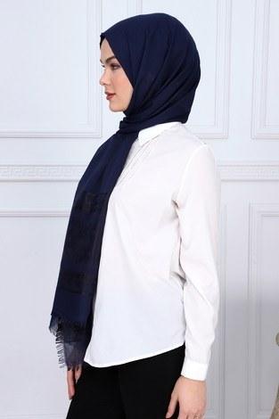 - Desenli Cotton Şal 9783-6 (1)