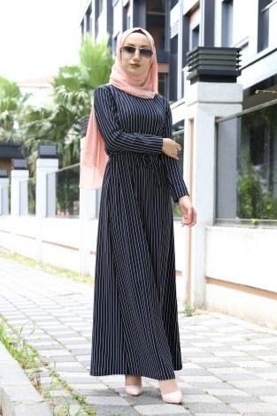 641840b1114c3 Tesettür Elbise Modelleri ve Fiyatları | Modasena.com