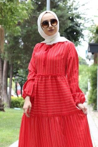 - Fırfır Elbise 1176-02 (1)