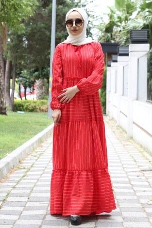 - Fırfır Elbise 1176-02