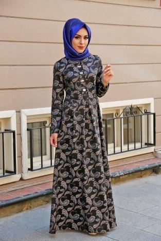 - Dijital Baskılı Örme Elbise 88188-2 (1)