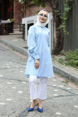 - Cotton Gömlek 7189-20