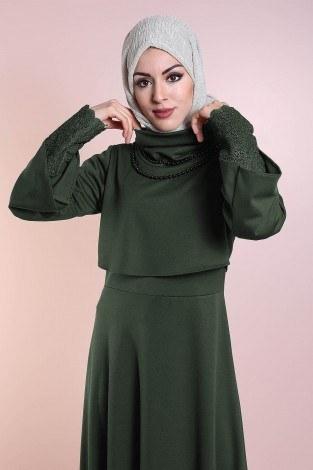 - Elbise, Bolero ve Kolye 3 Parça Takım 3510-1 (1)