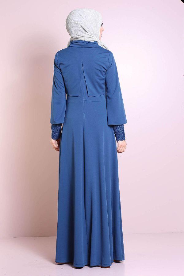 Elbise, Bolero ve Kolye 3 Parça Takım 3510-3
