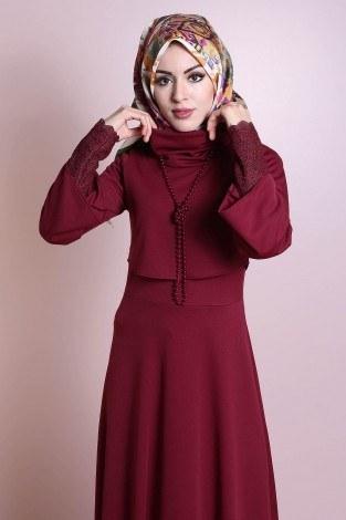 - Elbise, Bolero ve Kolye 3 Parça Takım 3510-6 (1)