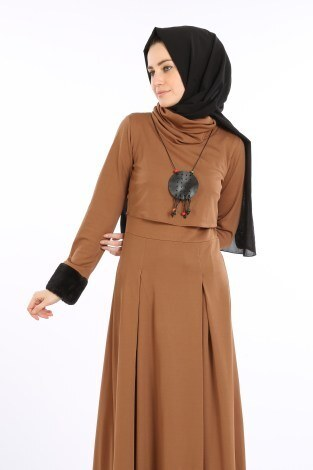 - Elbise, Bolero ve Kolye 3 Parça Takım 8430-2 (1)