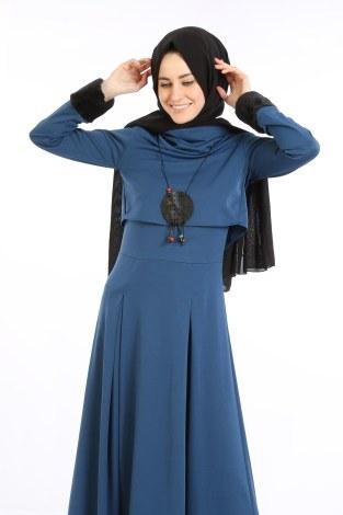 - Elbise, Bolero ve Kolye 3 Parça Takım 8430-3 (1)