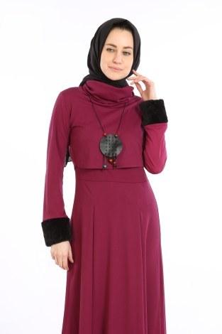 - Elbise, Bolero ve Kolye 3 Parça Takım 8430-4 (1)