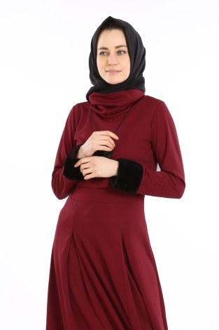 - Elbise, Bolero ve Kolye 3 Parça Takım 8430-5 (1)
