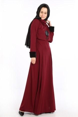 - Elbise, Bolero ve Kolye 3 Parça Takım 8430-5