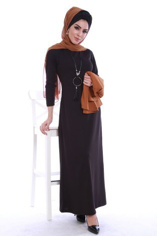 1 ALANA 1 BEDAVA - Elbise ve Seyyar Bluz İkili Takım 3113-1 (1)
