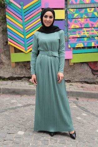 - Eteği Piliseli Elbise TEG.2417-4 (1)