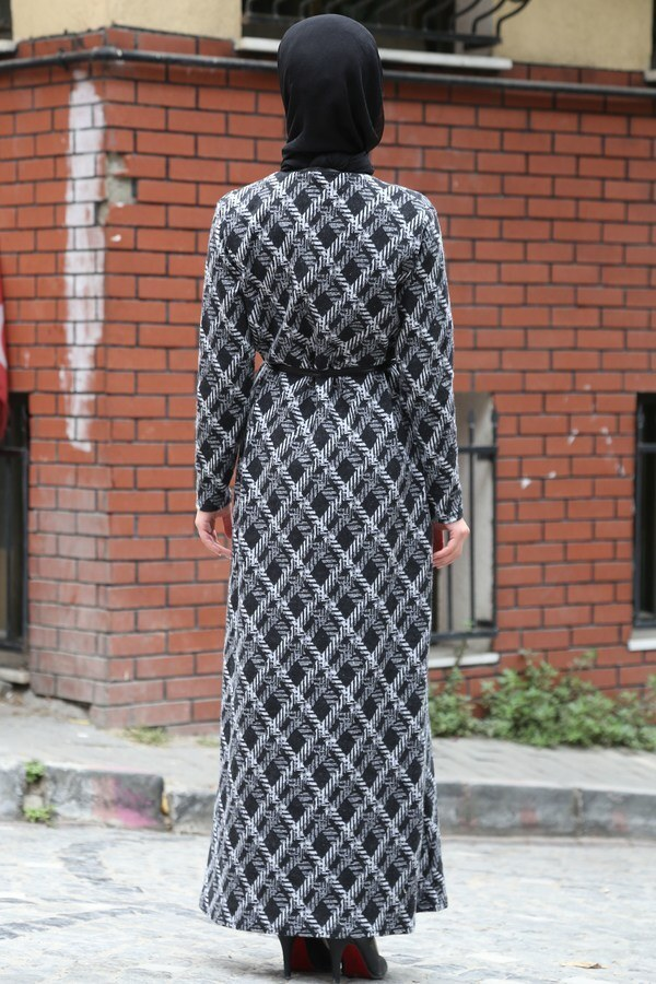 Etnik Desen Elbise 8822-21