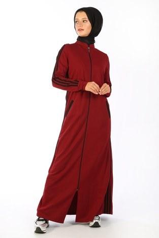 - Fermuarlı Elbise 1819-03