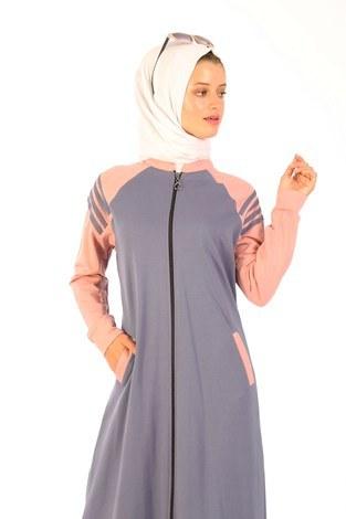 - Fermuarlı Elbise 1819-13 (1)