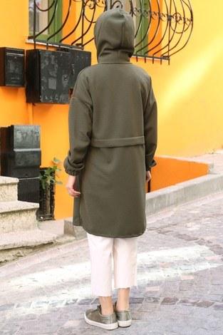 Fermuarlı Tunik Kap 7118-04 - Thumbnail