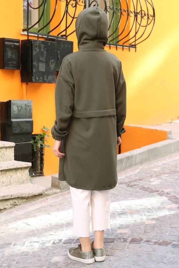 Fermuarlı Tunik Kap 7118-04
