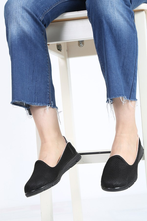 File Ayakkabı 6003-1 Siyah