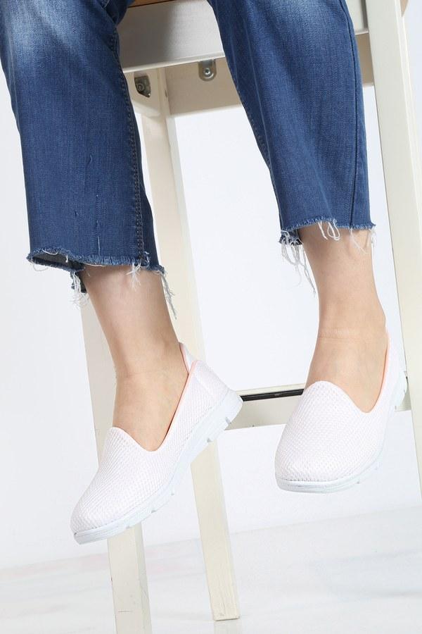 File Ayakkabı 6003-2 Beyaz
