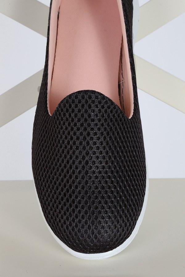 File Ayakkabı 6003-3 Tabanı Beyaz Siyah