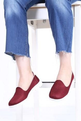 - File Ayakkabı 6003-5 Bordo