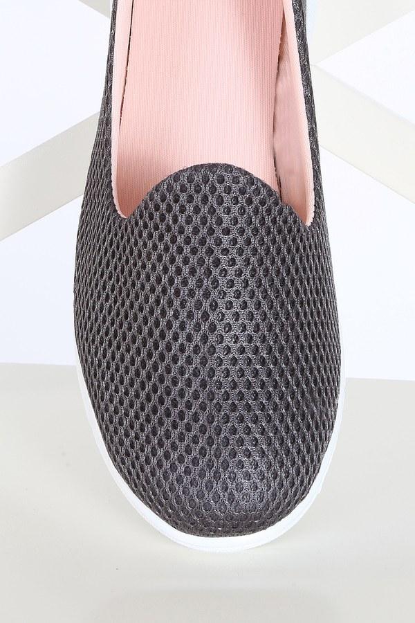 File Ayakkabı 6003-5 Füme