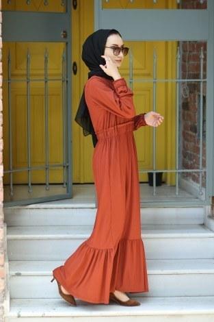- Fırfır Detaylı Elbise 4736-16 (1)