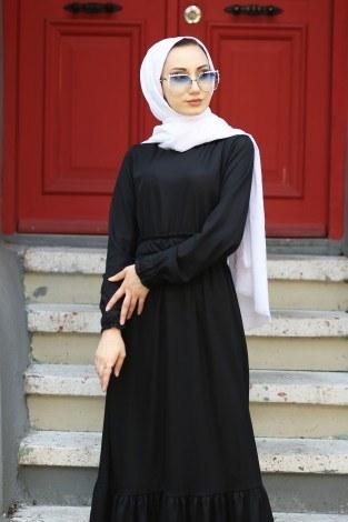 - Fırfır Detaylı Elbise 4736-01 (1)