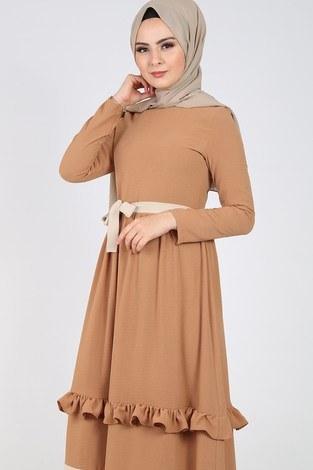 - Fırfır Detaylı Elbise 5755-4 (1)