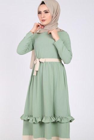 - Fırfır Detaylı Elbise 5755-5 (1)
