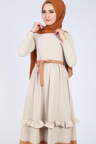 - Fırfır Detaylı Elbise 5755-6 (1)