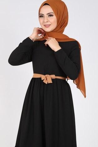 - Fırfır Detaylı Elbise 5755-7 (1)