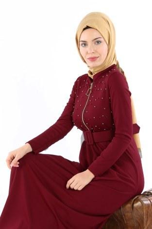- Fernuar Detaylı İncili Elbise 01674-02 (1)