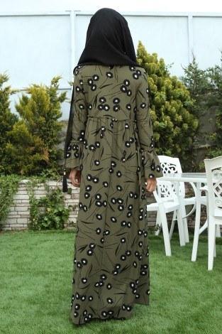 - Fırfırlı Elbise 3085-25 (1)