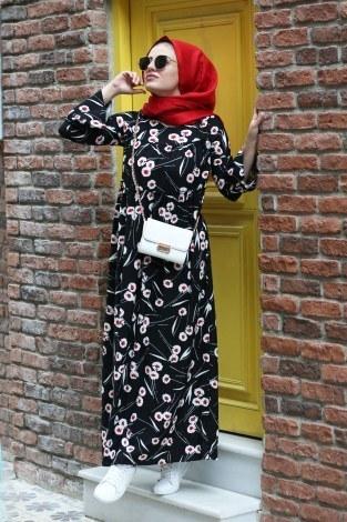 - Fırfırlı Elbise 3085-26