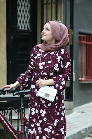 - Fırfırlı Elbise 3085-27 (1)