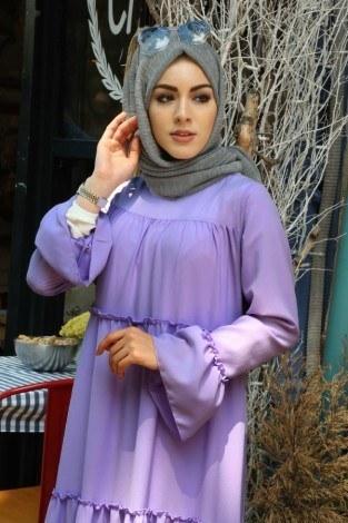 - Fırfırlı Elbise 3085-45 (1)