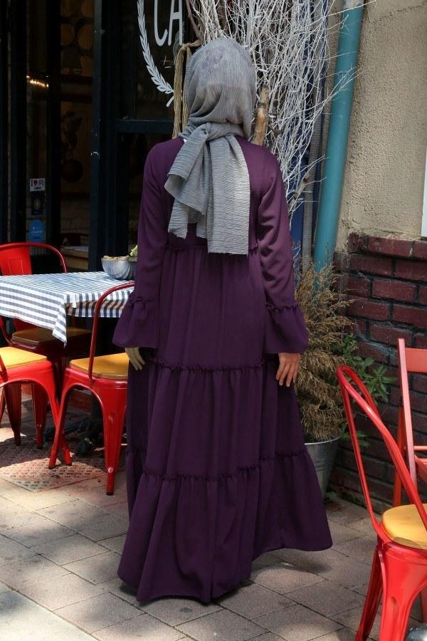 Fırfırlı Elbise 3085-42