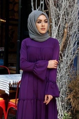 - Fırfırlı Elbise 3085-42 (1)