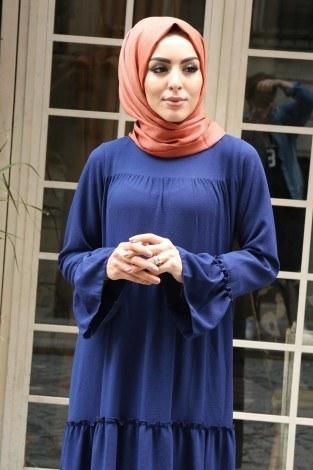 - Fırfırlı Elbise 3085-47 (1)