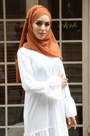 - Fırfırlı Elbise 3085-48 (1)