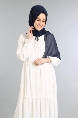 - Fırfırlı Şifon Elbise 5241-03 (1)
