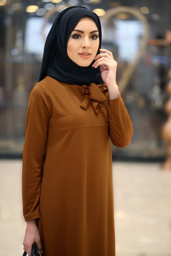 Fularlı Elbise MPR4465-11