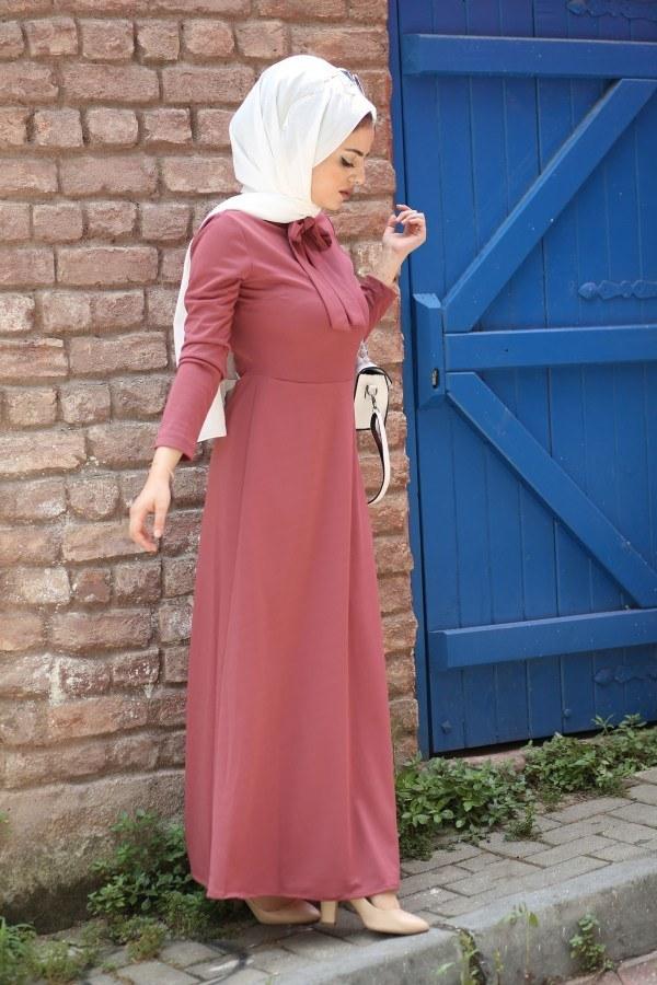 Fularlı Elbise MPR4465-4
