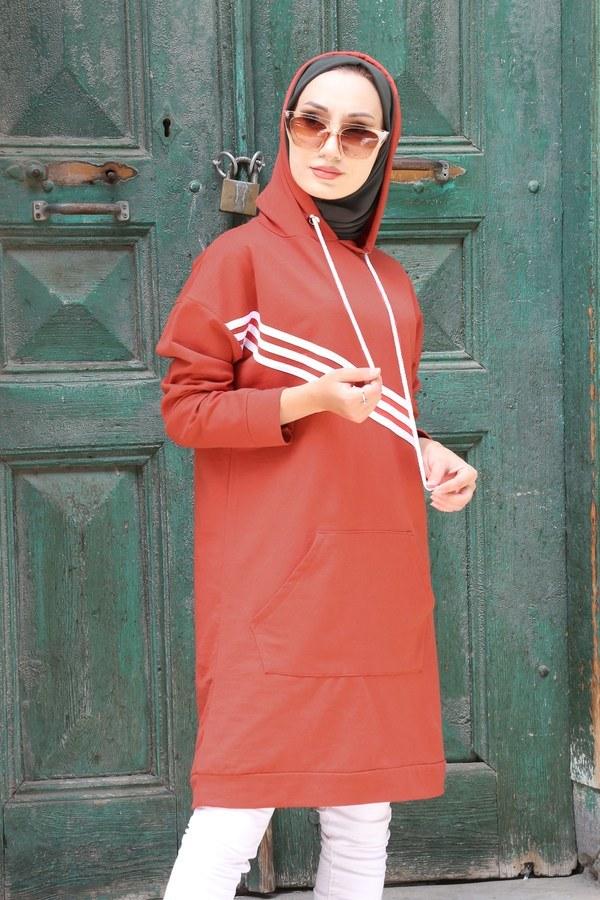 Giy Çık Şeritli Tunik 1199-16